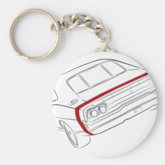 American muscle car keychains