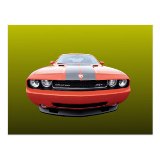 AMERICAN MUSCLE CAR. POSTCARD