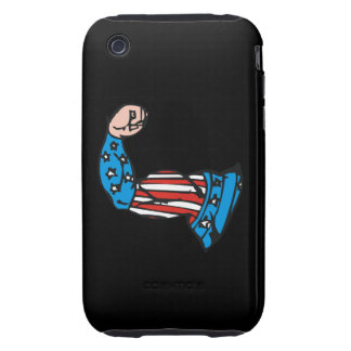 American Muscle Tough iPhone 3 Case