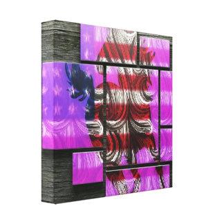American Mustang Canvas Print