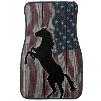 American Mustang running wild Floor Mat
