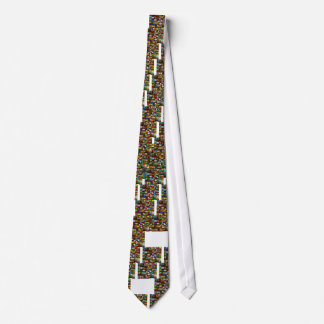 American National Parks Vintage Decal Bomb Tie
