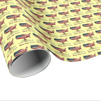 American Northern Irish Roots Gift Wrap