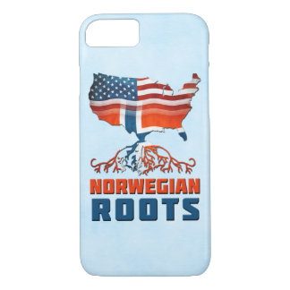 American Norwegian Roots Phone Cover