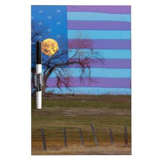 American November Supermoon Dry Erase Board
