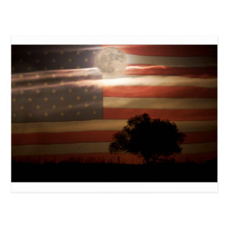 American November Supermoon Postcard