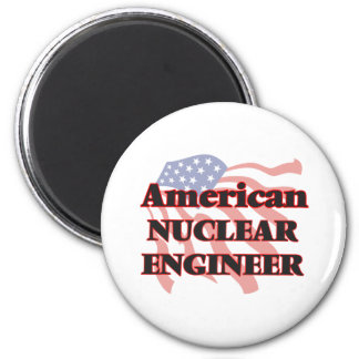 American Nuclear Engineer 6 Cm Round Magnet