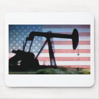 American Oil Mouse Pad