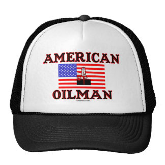 American Oilman,Oil Field Hat,Oil Rig,Oil,Gas, Cap