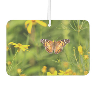 American Painted Lady Butterfly Car Air Freshener