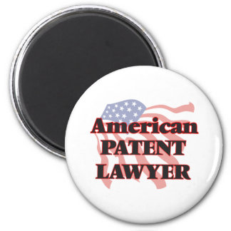 American Patent Lawyer 6 Cm Round Magnet
