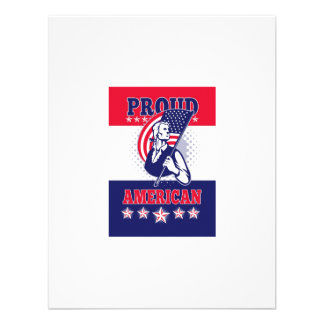 American Patriot Independence Day Poster Greeting Invitation