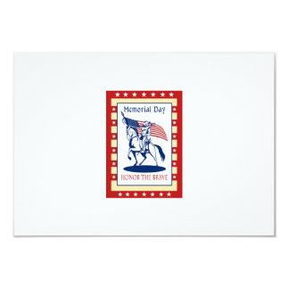 American Patriot Memorial Day Poster Greeting Card Invitations