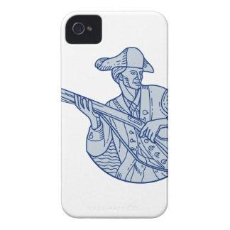 American Patriot Minuteman Rifle Mono Line iPhone 4 Case