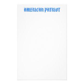 AMERICAN PATRIOT STATIONERY DESIGN