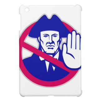 American Patriot Stop Sign Retro Cover For The iPad Mini