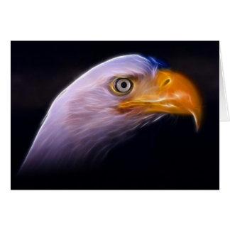 American Patriotic Bald Eagle, National Symbol Card
