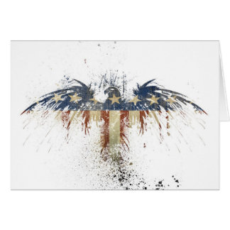American Patriotic Eagle Card