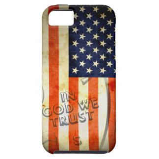American Patriotic In God We Trust iPhone 5 Case