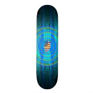 American Patriotic Skate Board Decks