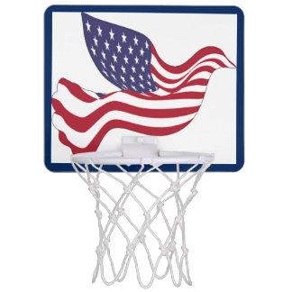 AMERICAN PEACE DOVE MINI BASKETBALL HOOP