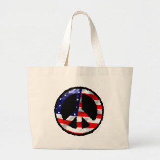 American Peace Large Tote Bag