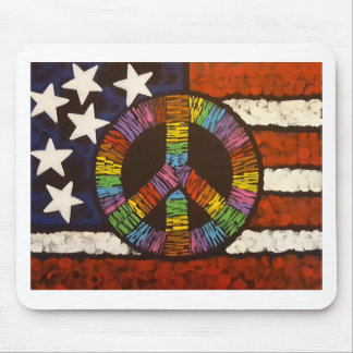 American Peace Mouse Pad