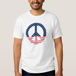 American Peace Sign T-Shirt