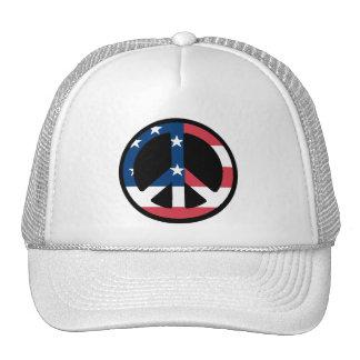 American Peace Symbol Hat