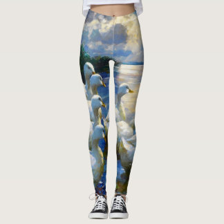 American Pekin Duck-2 Leggings