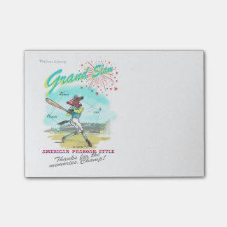 American Pharoah Grand Slam Tribute Post It Notes