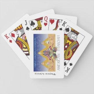 American Pharoah Triple Crown Playing Cards