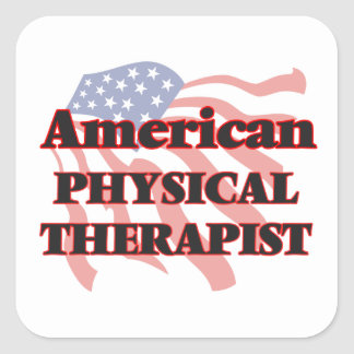 American Physical Therapist Square Sticker