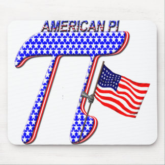 AMERICAN PI (PIE) - MATH HUMOR MOUSE PADS