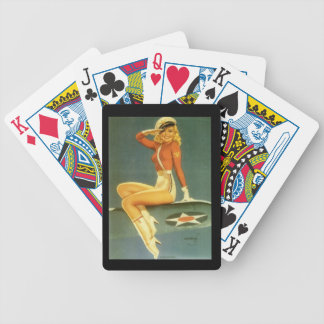 American Pin Up Bicycle Playing Cards