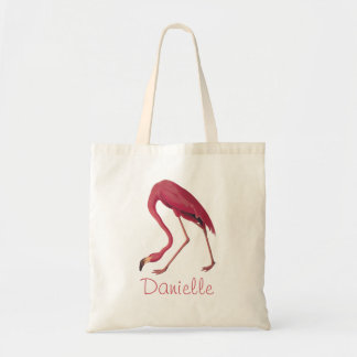 American Pink Flamingo Audubon Vintage Bird Art