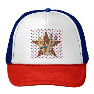 American pinup star cap