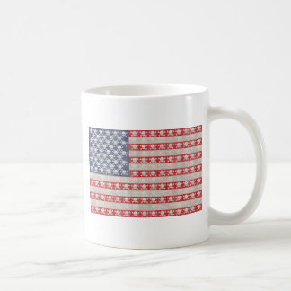 American Pirate Flag Coffee Mug