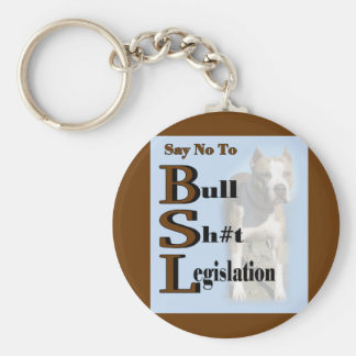 American Pit Bull Terrier Gifts Basic Round Button Key Ring