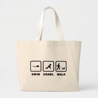 American Pit Bull Terrier Large Tote Bag