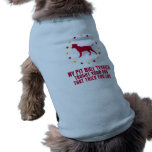 American Pit Bull Terrier Sleeveless Dog Shirt