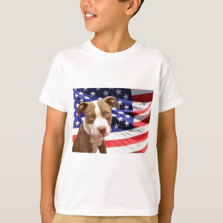 American Pitbull puppy shirt