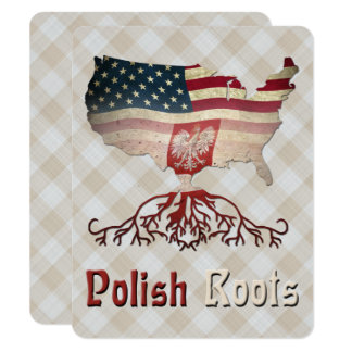 American Polish Roots Party Invites