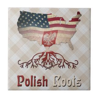 American Polish Roots Tile