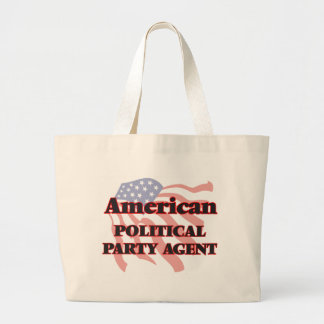 American Political Party Agent Jumbo Tote Bag