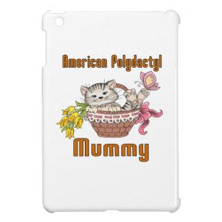 American Polydactyl Cat Mom iPad Mini Covers