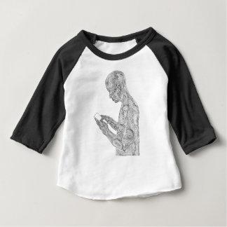 American Prayer Toddler Raglan (black) Baby T-Shirt