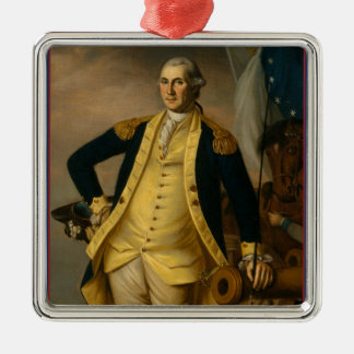 American President: George Washington Metal Ornament