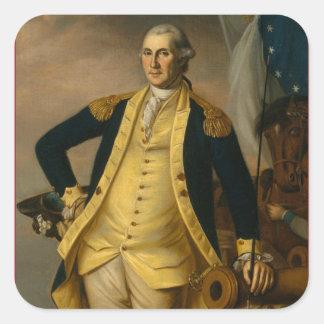 American President: George Washington Square Sticker