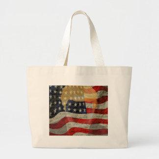 American president large tote bag